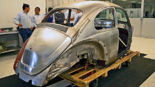 老奶奶花费10万元,去修复一辆1976汽车,网友:真任性!