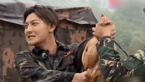 黄子韬实力搞笑,教官我喜欢凶猛的不喜欢小鸡,杨幂忍不住狂笑!