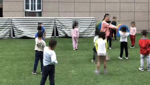 """幼儿园让孩子穿内裤室外活动,""""空气浴""""听说过吗"""