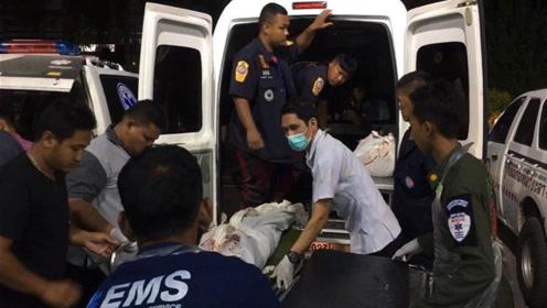 泰国南部一安全检查站遭袭 至少15死4伤