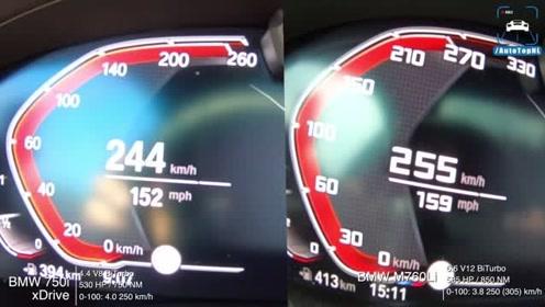 气缸即尊严:宝马750 V8在760 V12面前还有还手能力吗?