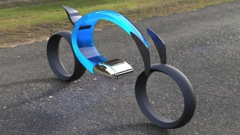 """英国牛人发明""""光速""""自行车,比摩托车速度快,28000元一辆贵吗"""