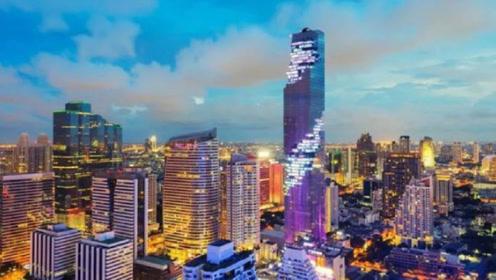 花费46亿建造的泰国第一高楼,白天被人嘲笑,晚上都赞不绝口