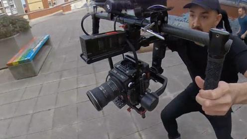 极限运动的摄影有多牛?镜头记录摄影师跑酷全程,比运动者还厉害