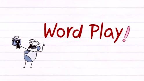 搞笑铅笔动画,铅笔人的字母摔了一地