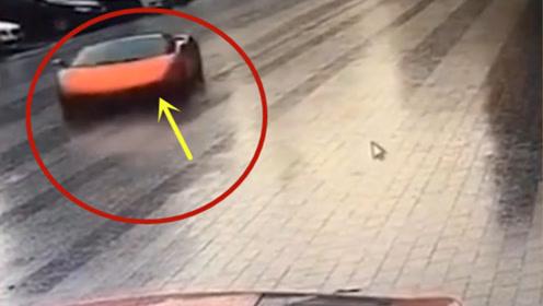 最贵的车祸现场,兰博基尼撞了阿斯顿马丁!法拉利表示很受伤