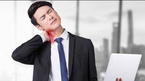 落枕脖子疼怎么办?跟我一起学习2个动作,可快速恢复