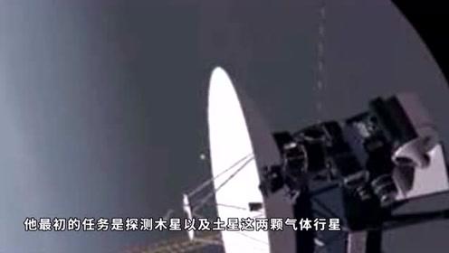 人类飞的最远的太空探测器,传回来的一张照片,让人深思!