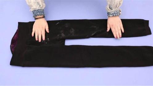 打底裤掉裆怎么办?学会这个小窍门,怎么穿都不掉裆,舒适又保暖