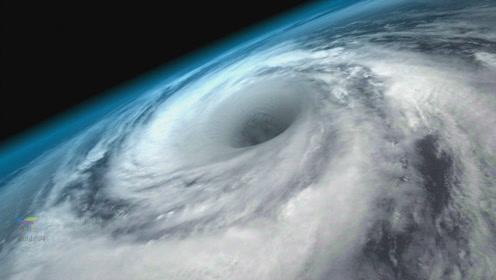 把原子弹丢进台风眼里面,可以把台风打散吗?
