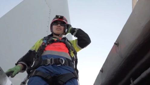 全台湾唯一女风机维修师:每天在50度高温下工作,却笑着说很有趣