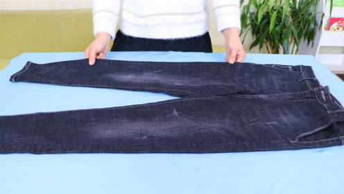 买裤子根本不用试穿,教你一诀窍,一买一个准,特别合身