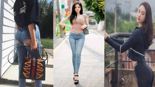 秋季紧身裤搭配方法,实用显时尚两不误,裤子穿搭,气质范十足