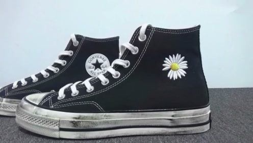 球鞋开箱:权志龙联名的这双鞋是假的?这么好看!是假的我也穿!