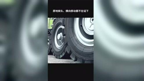 科技:厉害了我的国,中国造1152个轮子的车,马路的心都碎了!