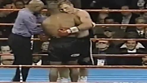 拳王可不是好惹的,泰森遭对手挑衅,脾气上来直接把人打到医院