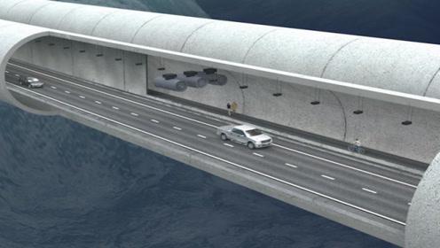 港珠澳大桥隧道深46米,万一漏水如何逃生?看完给中国工程师点赞