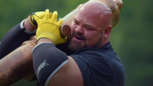 世界最强男人的一天,除了锻炼就是吃饭,疯狂摄入20000卡路里