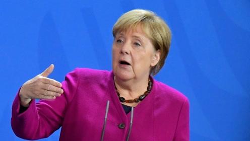 """默克尔:欧盟应从美国巨头手中夺回""""数字主权"""""""