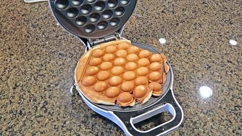 盘点几款制作华夫饼的神器,第一个太实用了,第五个很麻烦!