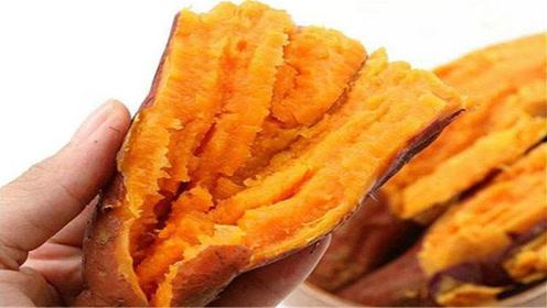 蒸红薯,记住不要直接上锅蒸,掌握这个技巧,出锅香甜软糯超好吃