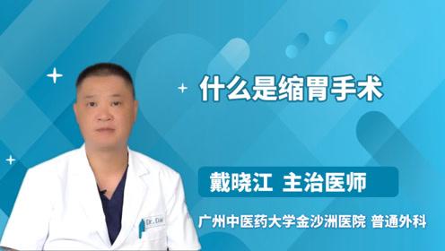 什么是缩胃手术?医生终于讲清楚了!