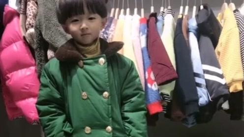 给我家小帅哥买的过年衣服,是不是很个性?