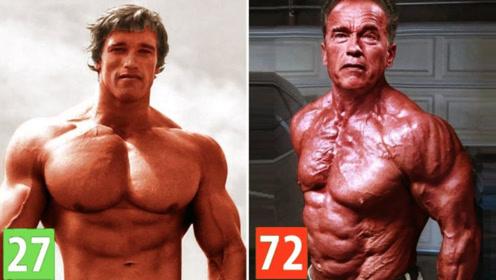 施瓦辛格罕见健身视频!当年巅峰时期的逆天肌肉,至今无法超越!