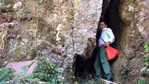 险境!小伙登上福建第一名山,钻进石缝中突然变得语无伦次