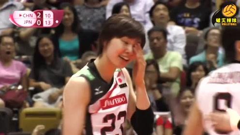 """朱婷你这样爆日本女排的头会""""没有朋友""""的,日本女将捂着头含泪接受道歉"""
