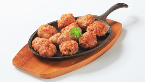 做肉圆不要再加淀粉和蛋液了,加入它,鲜嫩有嚼劲,下锅不会散!