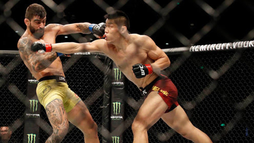 这就是李景亮能在UFC占据一席之地的铁拳暴击!