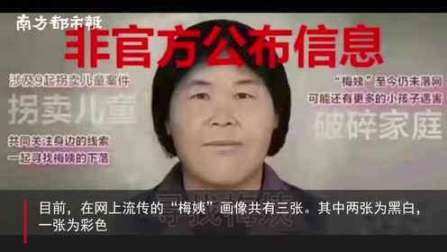 """有关部门曾陪同退休民警林宇辉绘""""梅姨""""画像!警方称应家属要求"""