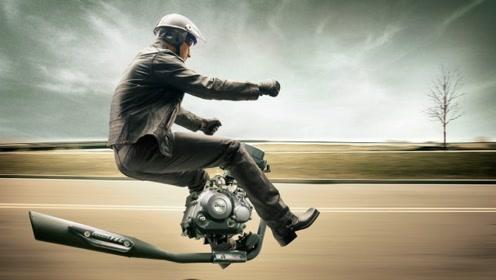印度神一般的司机!敢这样骑摩托车的也只有印度人了