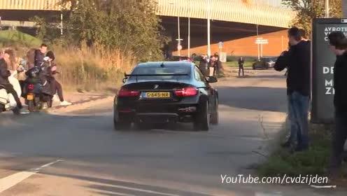 外国街头跑车加速实拍,都是性能的跑车!