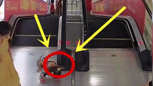 """4岁女童遭电梯""""毒手"""",母亲当场瘫软,众人火速""""救场""""!"""