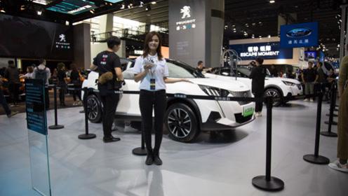 东风标致旗下首款纯电SUV e-2008广州车展首发亮相