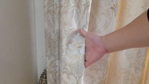 不管窗帘多脏多旧,教你一招,不用拆也不用卸,立马洁净如新