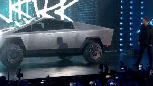 1分半看完特斯拉发布会,Cybertruck,一辆从科幻电影里开出的车