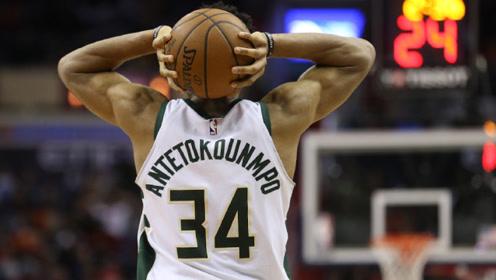 猛兽出笼!字母哥成为第五位连续10场至少拿下25分10篮板的球员