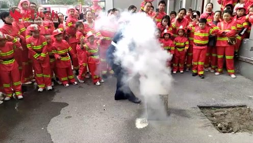 十八般武艺齐上阵 小小消防员体验式学习消防知识