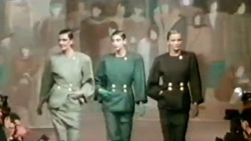 回忆曾经时尚 80年代复古时装秀 原来也是很美的