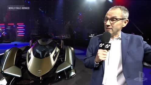 兰博基尼 Lambo V12 Vision Gran Turismo 摩纳哥首发式