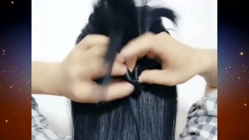 这样女神范十足的扎发发型,谁看到都会心动的,你说是吧