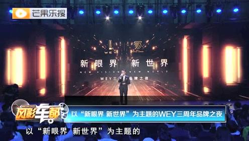 """视频丨以""""新眼界 新世界""""为主题的WEY三周年品牌之夜"""