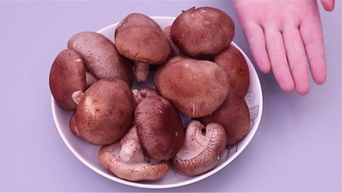 洗香菇不要只用清水,教你一个绝招,虫卵脏东西全去除,太厉害了
