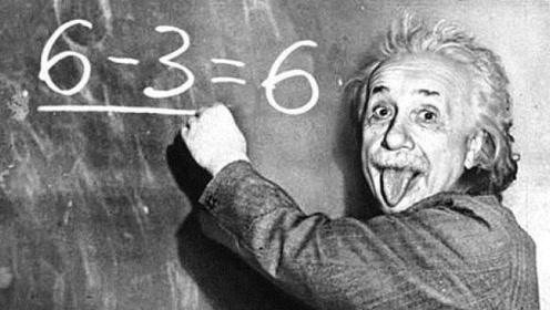 """爱因斯坦曾写下""""6-3=6"""",他是在开玩笑吗?原因不简单!"""