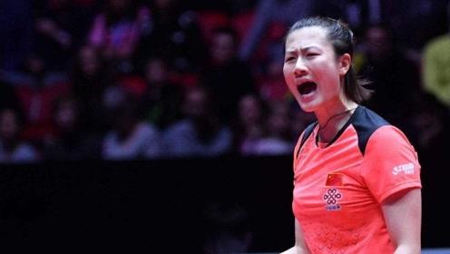 丁宁不愧是中远台女王!对战冯天薇连续对拉53板,裁判都看晕了!