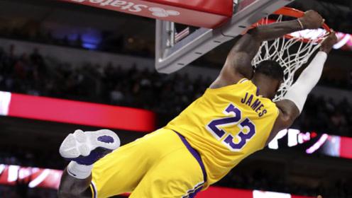 一条视频回顾NBA11月精彩镜头 詹皇隔扣太霸气!