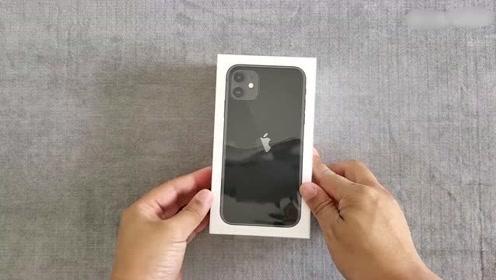 4799元的iPhone11开箱 开箱的时候很紧张 真怕自己翻车了